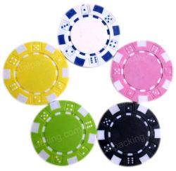 Microplaqueta simbólica do póquer da moeda do jogo de /Card do casino contrário feito sob encomenda de Las Vegas /Jetton/