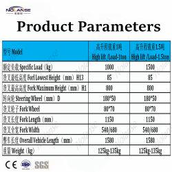 Table élévatrice à ciseaux hydraulique Transpalette table élévatrice à ciseaux hydraulique Transpalette Ciseaux de relevage hydraulique