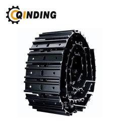 Precio competitivo Komatsu D60 D65 D85 La zapata de oruga bulldozer D155 Conjunto de la placa de la vía de electrodos de acero