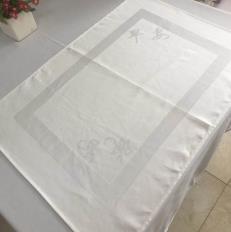 Material de algodón personalizadas mantel de Poliéster elástico