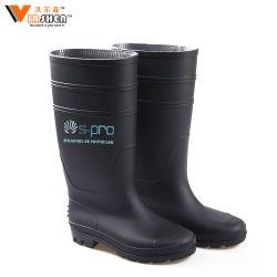 PVC Non-Slip OEM diversos hombres de seguridad de protección de la lluvia botas