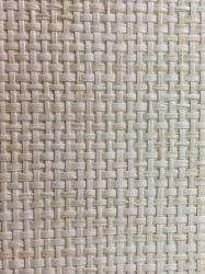 Desligar branco texturizado Natural Pano Erva Wallcovering reservar o quarto de parede para decoração
