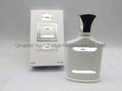 ボディスプレーの香水のための白いガラスビン100mlの顧客用銀製山水香水