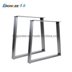 Table en acier inoxydable de jambes lourdes Pieds de meubles le châssis