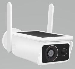 La energía solar WiFi CCTV cámara con baterías recargables de LG HD 1080P, resistente al agua Sensor PIR de visión nocturna de la detección de movimiento Audio bidireccional Tarjeta SD/Cloud