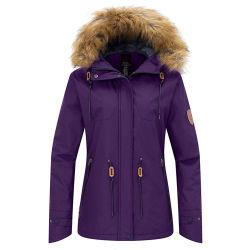 Rivestimento di pattino professionale impermeabile di inverno per le donne