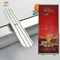 80x200cm de tamaño estándar de Banner Roll up con obras de arte personalizado Imprimir