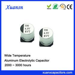 330ОФ 6.3V 2000часов стандартные SMD электролитические конденсаторы