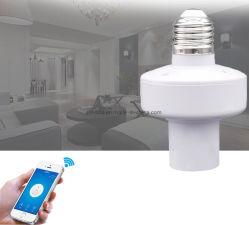 De slimme Houder van de Lamp van de Contactdoos van de Lamp met WiFi en Mobiel Controlemechanisme Over lange afstand die ook door Verder binnen 20 Meters wordt gecontroleerd