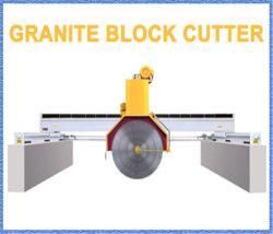 Pierre multidisque du pont de marbre/granit/machine de découpe de bloc