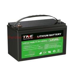 Solar/RV/Marine를 위한 BMS를 가진 12V 100ah LiFePO4 리튬 건전지 또는 리튬 이온 건전지