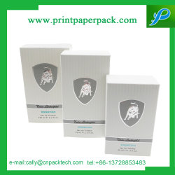 Van de douane van de Luxe van de Naam van het Merk de Verpakkende Vakjes van het Document van het 125ml- Parfum