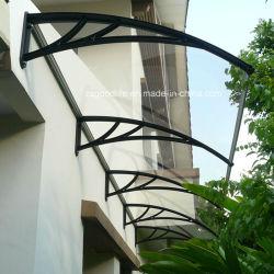 Un vent fort pour l'extérieur de toiture en plastique résistant en polycarbonate de matériau d'auvent