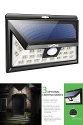 Licht van de Veiligheid van de Tuin van het nieuwe Zonne LEIDENE van de Muur het Lichte ZonneHuis van de Sensor 36LED Lichte Zonne