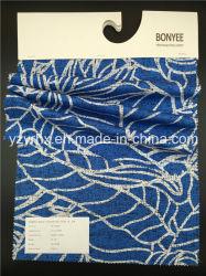 Tissu fini 100% coton bleu Poplin la masse