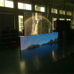 Visualizzazione di LED esterna della tenda di colore completo di HD P10
