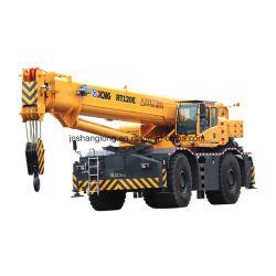 油田の起重機機械120トンの荒地勢クレーン(RT120E)