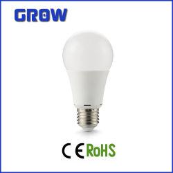 Une haute puissance60 E27 plastique aluminium CMS ampoule LED
