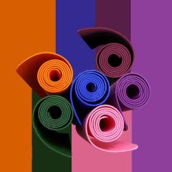 Eco Fridendly PVC Tapis de Yoga