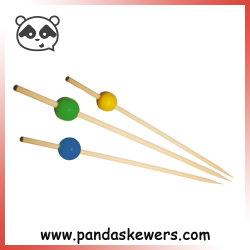 Hot Sale perles fantaisie brochettes de bambou choisit pour le parti