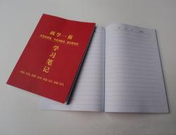 Imprimé le capot souple d'étudier le bloc-notes