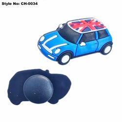 3D Charme van de Belemmering van het Kind, Decoratie van de Schoen van de Auto van de Manier de Rubber