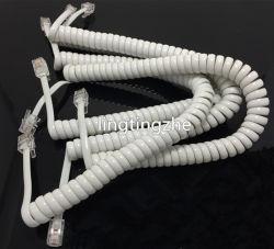 Bujão da Linha de telefone+Conecte o cabo cabo em espiral Cabo da bobina de cabo em espiral de Telefone