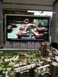 55pulgadas LCD Ultra Bisel estrecho Video