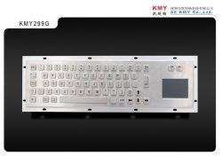 Het waterdichte Toetsenbord van de Computer van het Metaal met Touchpad (KMY299G)