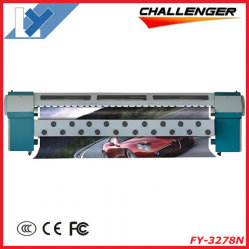 3,2 milhões de Impressora de Grande Formato Solvente Digital Fy-3278N com 8 PCS Seiko Spt510 Cabeçote de impressão a jato de tinta