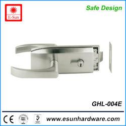Serrure de porte en verre de zinc économique et du matériel en verre (GHL-004E)