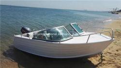 Todo el barco de pesca de aluminio soldado (5083) de aleación de aluminio
