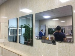 Yashiの防水IP66浴室ミラーTV