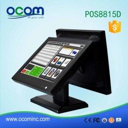 タッチ画面のモニタの店頭が付いている金銭登録機のためのPOSシステム