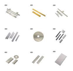 Le couteau fabricant tous les produits sont personnalisés par usine OEM et les couteaux à lame de la machine pour le caoutchouc de coupe de cisaillement de papier en plastique et de la batterie au lithium de cellule solaire