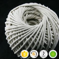4mm 100% bandes de cordon de coton pour le bord de literie
