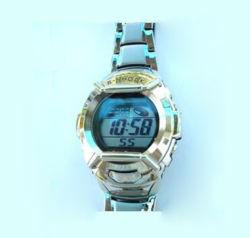 Fashion siliconen LED Solar Watch