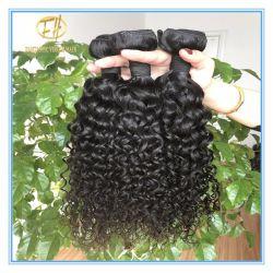 Haut de la qualité noir naturel brut Deep Curly 8un grade dans le plein de cheveux humains péruvien cuticule coupés d'un donneur avec prix d'usine PAM-040
