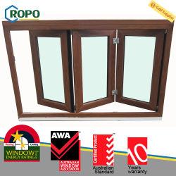 Neuestes PVC-Verbundglas mit Falzbeschichtung und Akkordeon-Fenster und -Tür