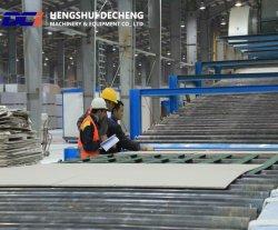 Máquinas de fabrico de placas de gesso de Construção (tipo DCIB600)