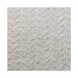 Blanco precio directo de fábrica un estilo único cepillo largo tejido Mezcla de Lana tejido prenda