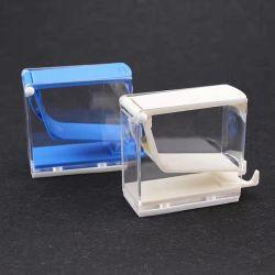 Consumibles dentales tipo de prensa de plástico mayorista dispensador rollos de algodón
