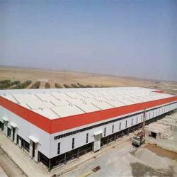 защита окружающей среды Q345b стали сегменте панельного домостроения в мастерской металлические структуры помещения для хранения