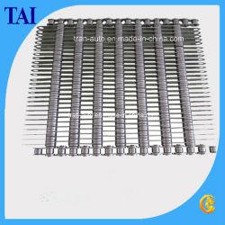 Transportador de malla de alambre de acero al carbono de la cadena de la cinta transportadora