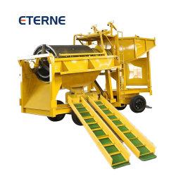 Mobile Diamond Gold planta de lavagem de equipamentos de mineração