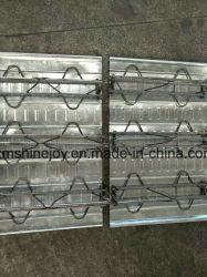 Fertiggebäudehaus galvanisierter Stahldecking-Binder-Platten-Stab-zusammengesetzter Mezzanin-Fußboden