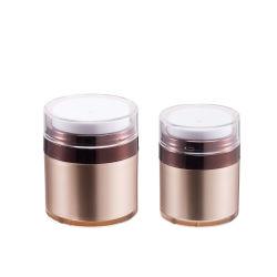 Crema Gel transparente de plástico cosmético Jar Jar en polvo suelto