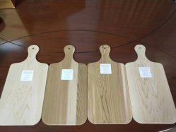 Madera de Cedro Rojo Occidental Custom-Made picar el bloque y tabla de cortar