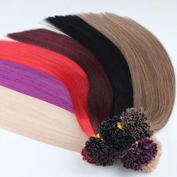 Remy I Astuce Les Extensions de cheveux humains Double appelée Stick droit naturel des cheveux 24 pouces 1.0g brins Capsules de cheveux de fusion