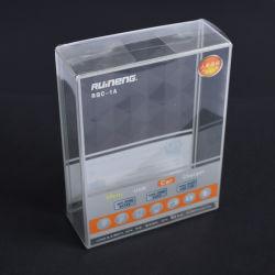 高品質長方形透明 PVC/PET/PP プラスチック透明パッケージボックスをカスタマイズ ギフトのため